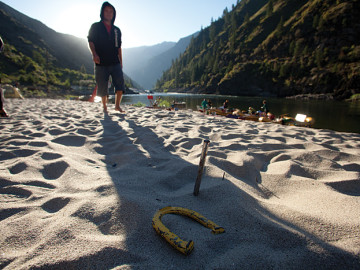beach games salmon river