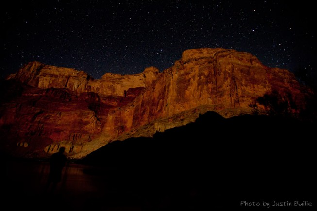 Grand Canyon at night