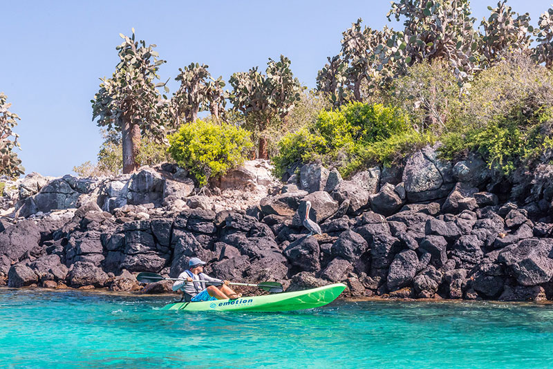 10 of the Best Sea Kayaking Spots in the World | Galapagos | Photo: James Kaiser