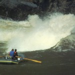 2.  Crystal Rapid at 87,000 CFS | Colorado River, June 1983 Photo by Curt Smith (70s and 80s O.A.R.S. guide)