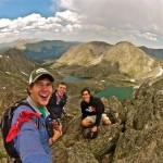 Peak bagging in the Trinity Alps.  Photo: JD Senter O.A.R.S. Outdoor Selfie Contest Top 10