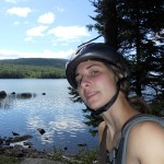 Acadia National Park, Maine Camping and biking, first sunny day! Photo: Keeley Klitz Winner of the O.A.R.S. Outdoor Selfie Contest