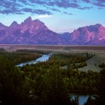 14.  Snake River and the Teton Range | Grand Teton National Park, Wyoming  Photo by Logan Bockrath