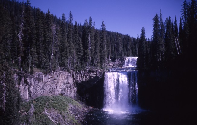 Colonnade Falls Yellowstone National Park