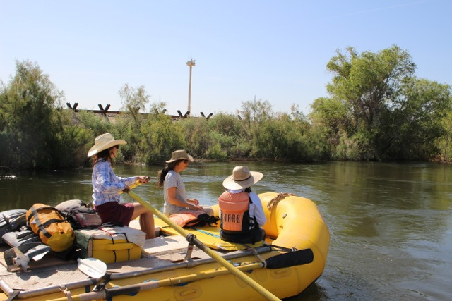 "Rafting the historic Colorado River ""Pulse Flow"""