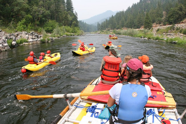 Lower Klamath River Rafting