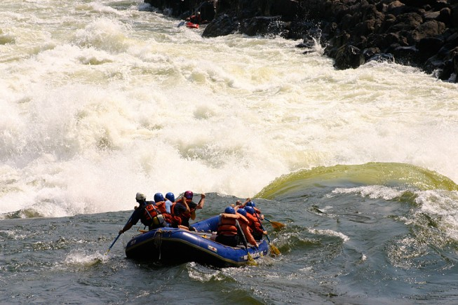 Ultimate adventure rafting trip - Zambezi River