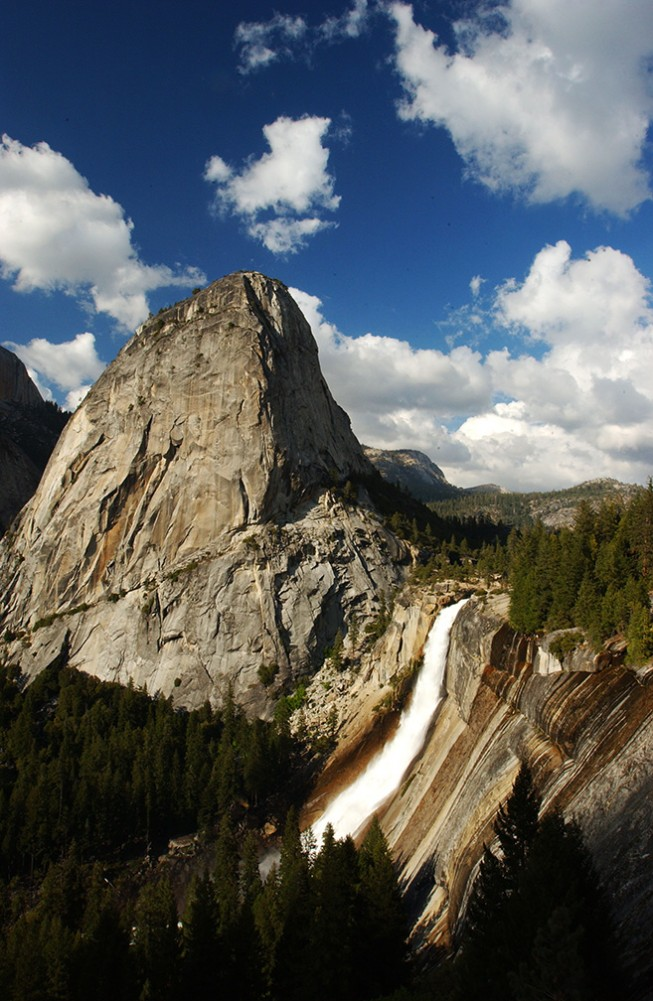 Must-see Waterfalls of the West (That You Can't Get to By Car) - Nevada Falls, Yosemite National Park