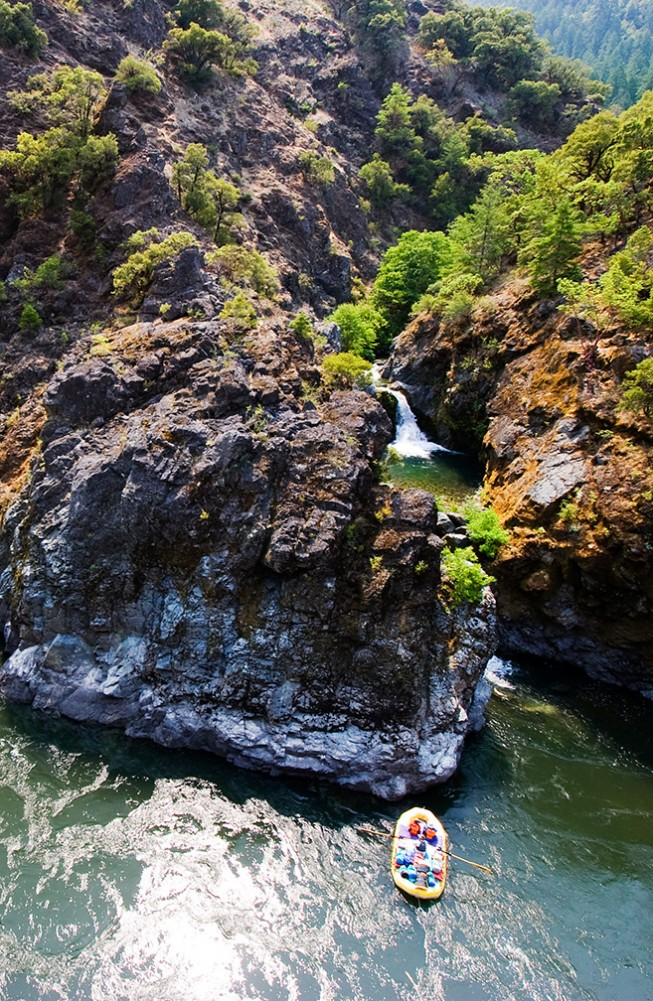 Must-see Waterfalls of the West (That You Can't Get to By Car) - Stair Creek Falls, Rogue River – Siskiyou National Forest