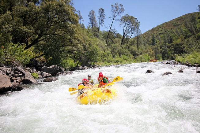 Tuolumne River Rafting Trip, California