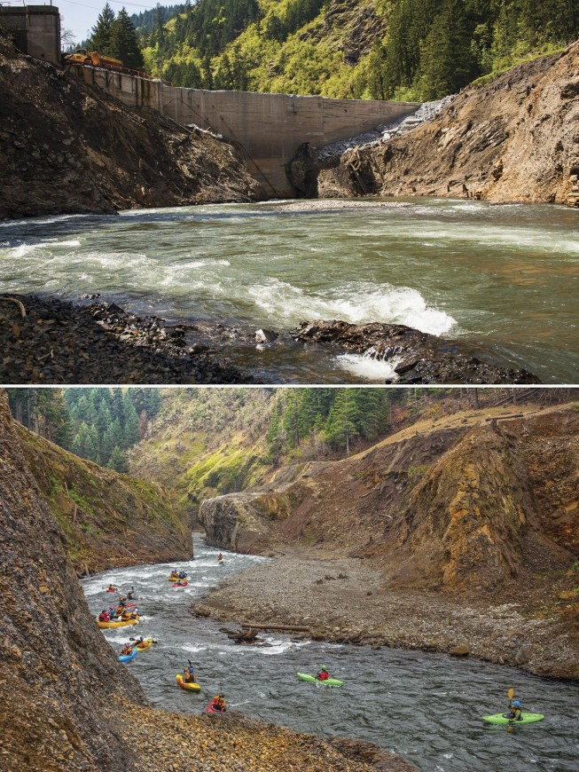 White Salmon River Restoration - Photo: Ben Knight