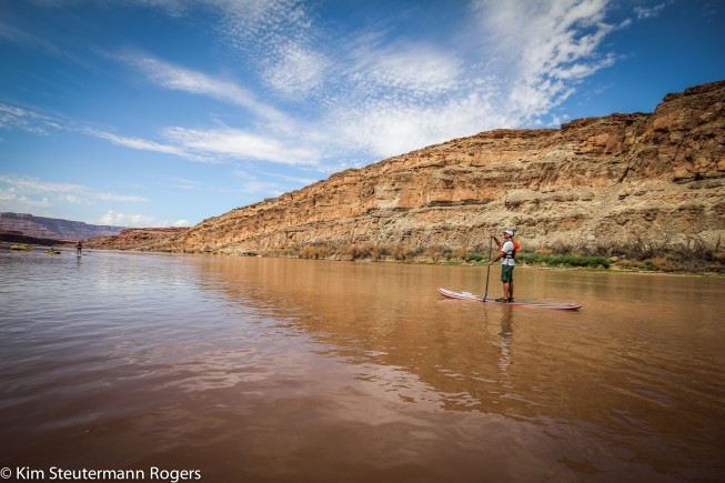 Colorado River paddleboarding | Photo: Kim Rogers