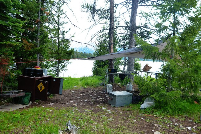 Leave No Trace Tips: Use Bear Boxes - Photo: Ashley Sozzi