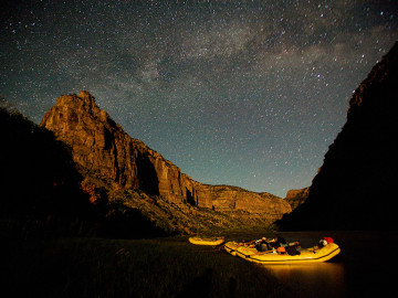 Best stargazing in the West: Yampa River | Photo: Justin Bailie