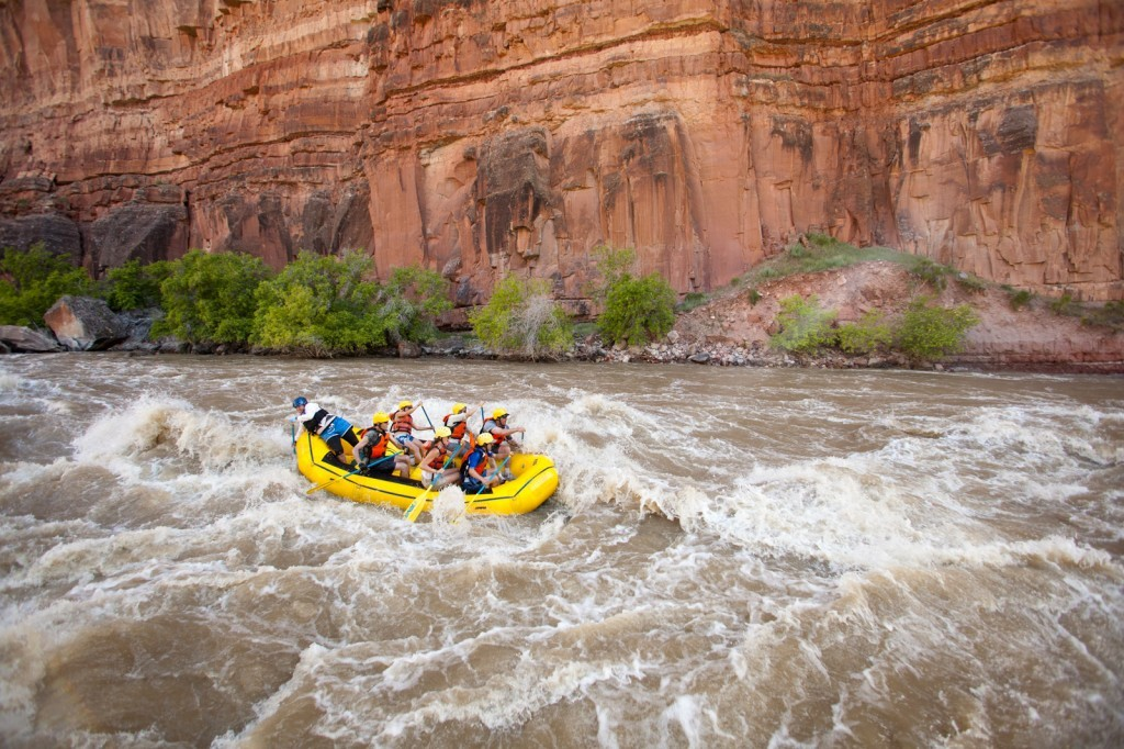 Yampa River History: Warm Springs Rapid