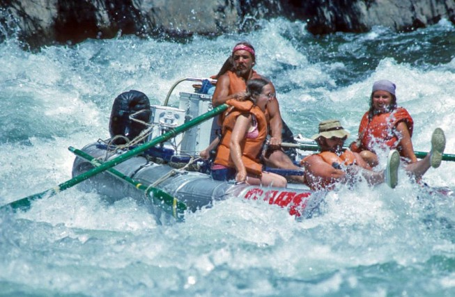 PFDs in the 80s - Stanislaus River Rafting