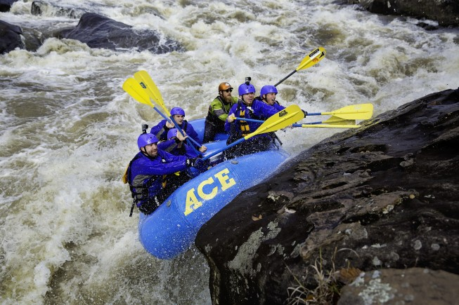 Pillow Rock Rapid, Gauley River | ACE