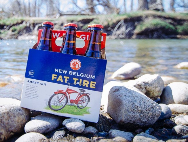 New Belgium Brewery Fat Tire