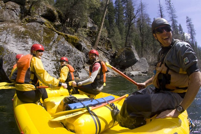 O.A.R.S. River Guide Chris Moore - Stanislaus River Rafting