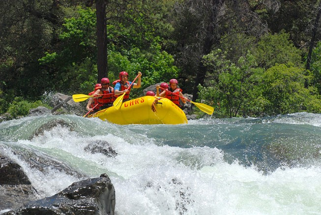 Tuolumne River - California Rafting