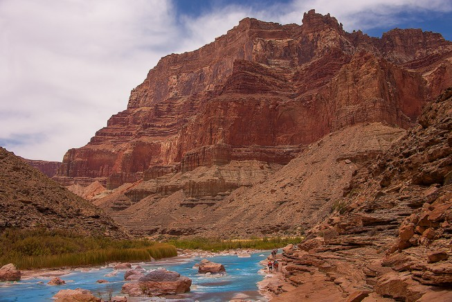 Confluence of the Little Colorado, Grand Canyon | Photo: Neil Rabinowitz