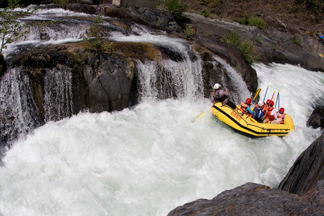 California Rafting - Middle Fork American