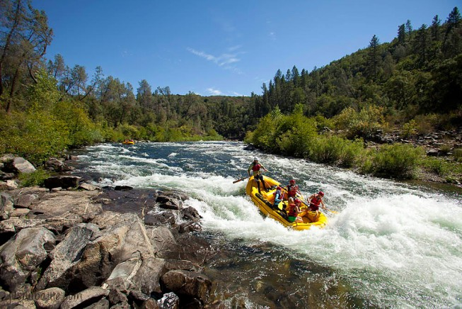 South Fork American River rafting | Photo: Justin Bailie