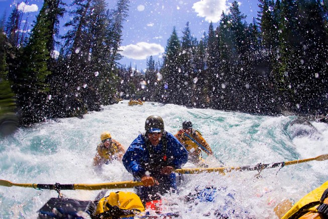 Where to find the best whitewater rafting 2015: Chilko River