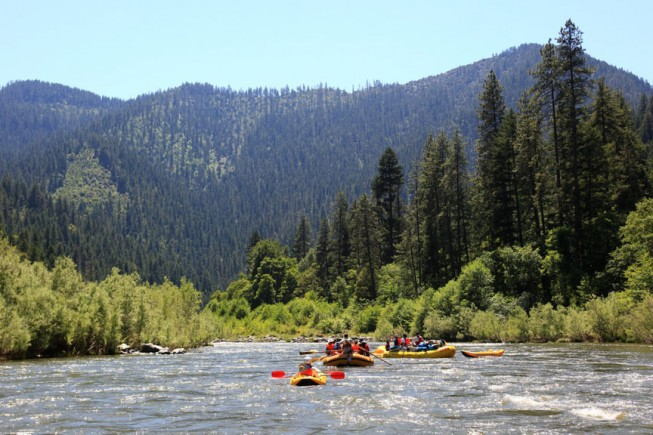 California Rafting - Lower Klamath