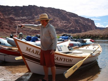 """Marble Canyon"" Newest Grand Canyon Dory Dedicated to Martin Litton"