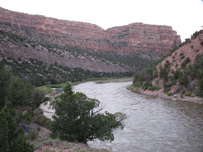 Teepee Camp Yampa River_WhitewaterCampsites