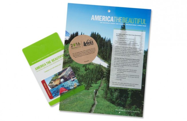 Gift Ideas for the Outdoorsy: America the Beautiful Pass REI
