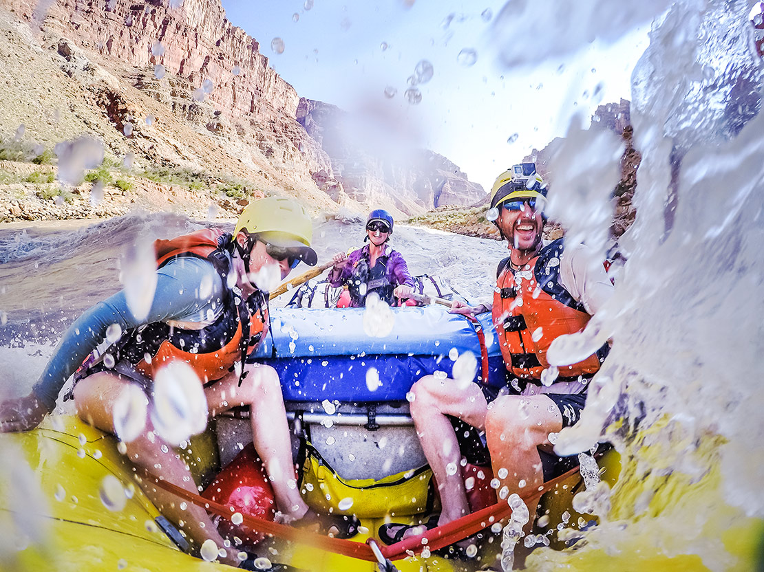 Cataract Canyon rafting on the Colorado River