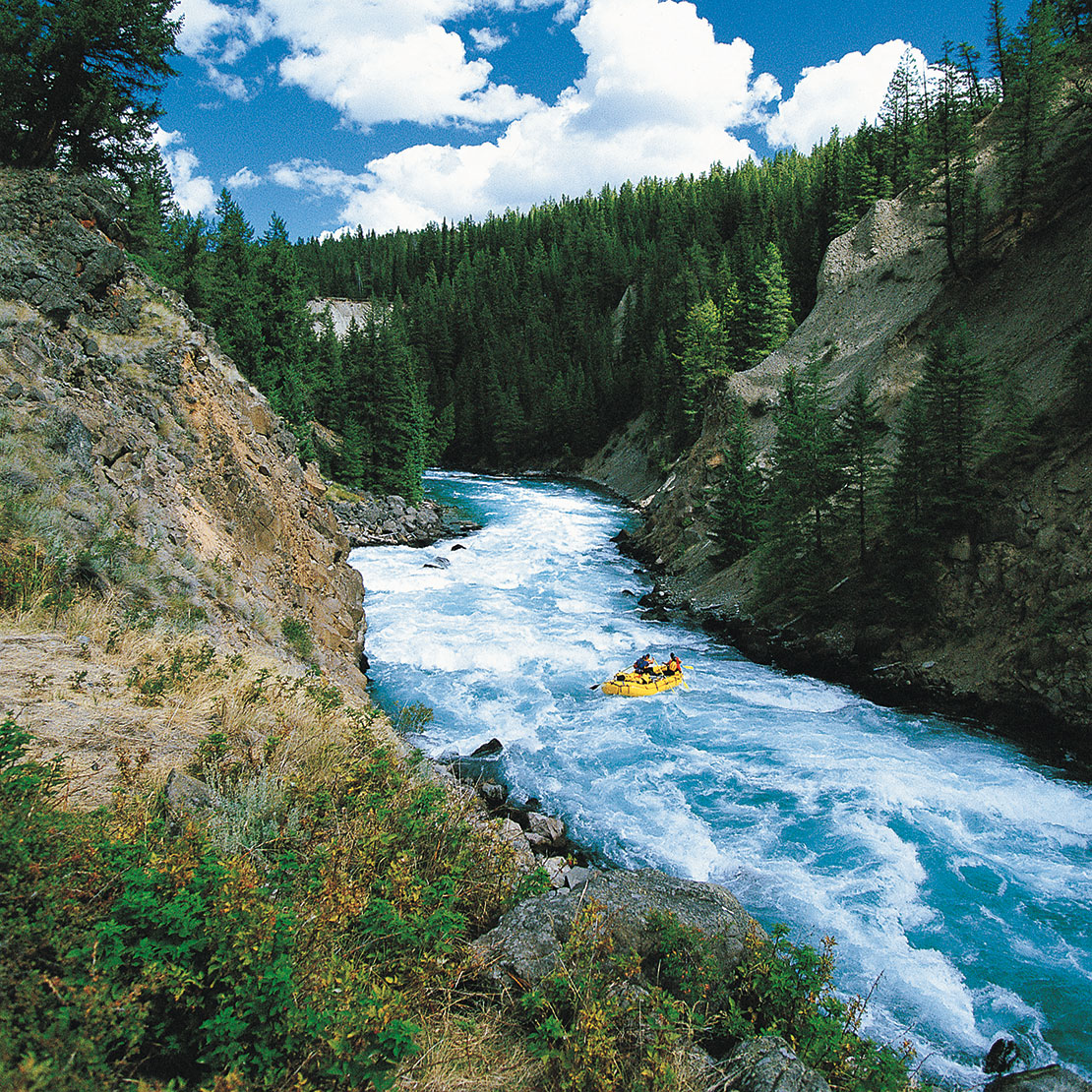 Canadian Rafting Adventure on the Chilko River