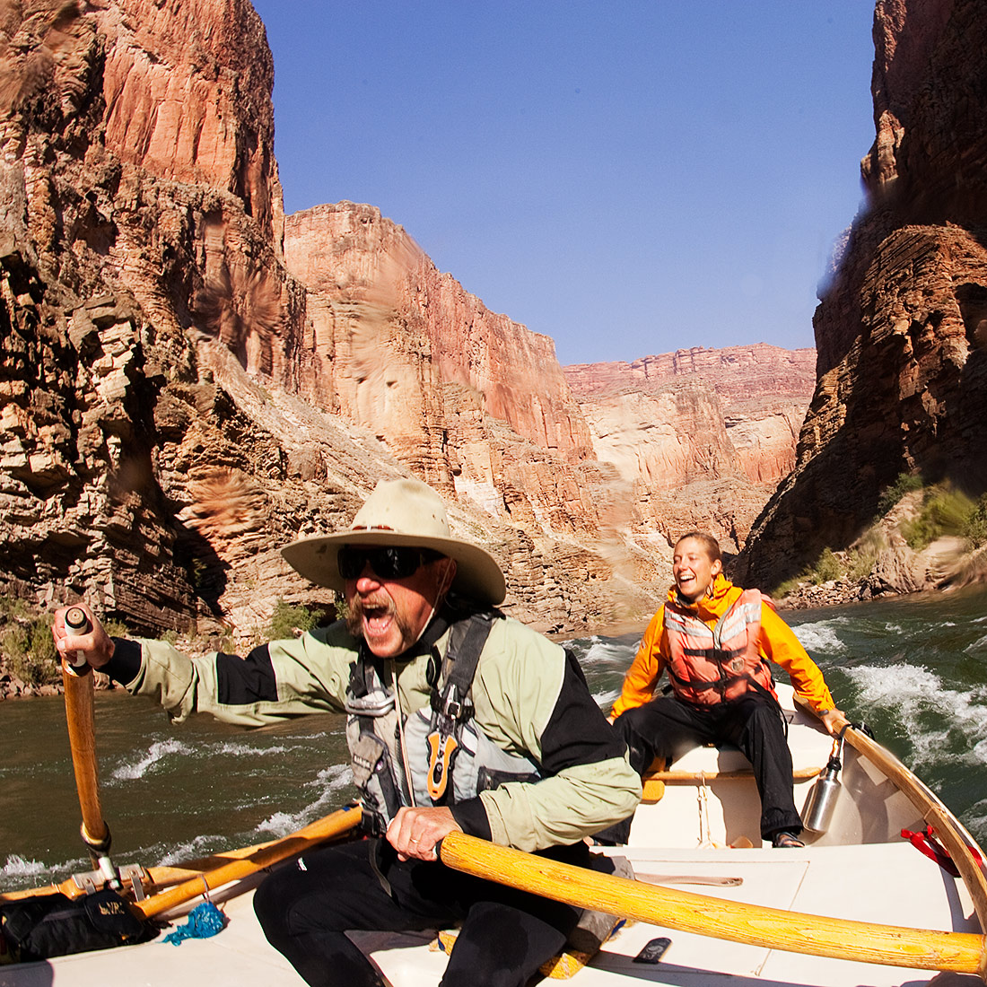 Colorado River rafting in the Grand Canyon