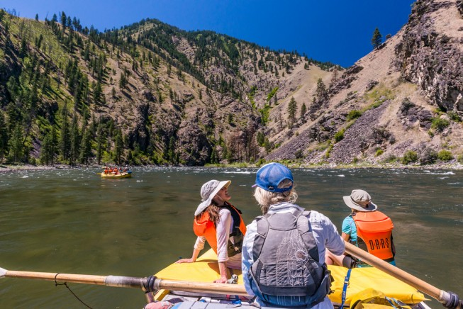 River guide on the Main Salmon River, Idaho