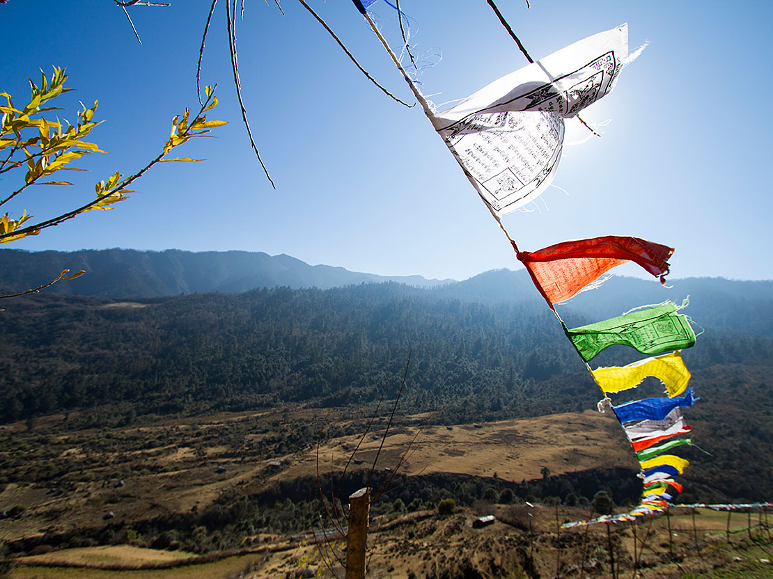 Bhutan Prayer Flags