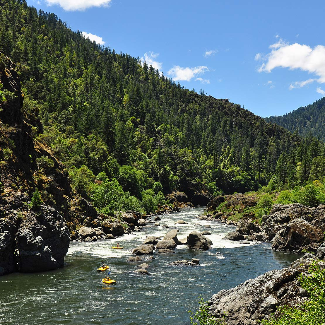 Blossom Bar on the Rogue River