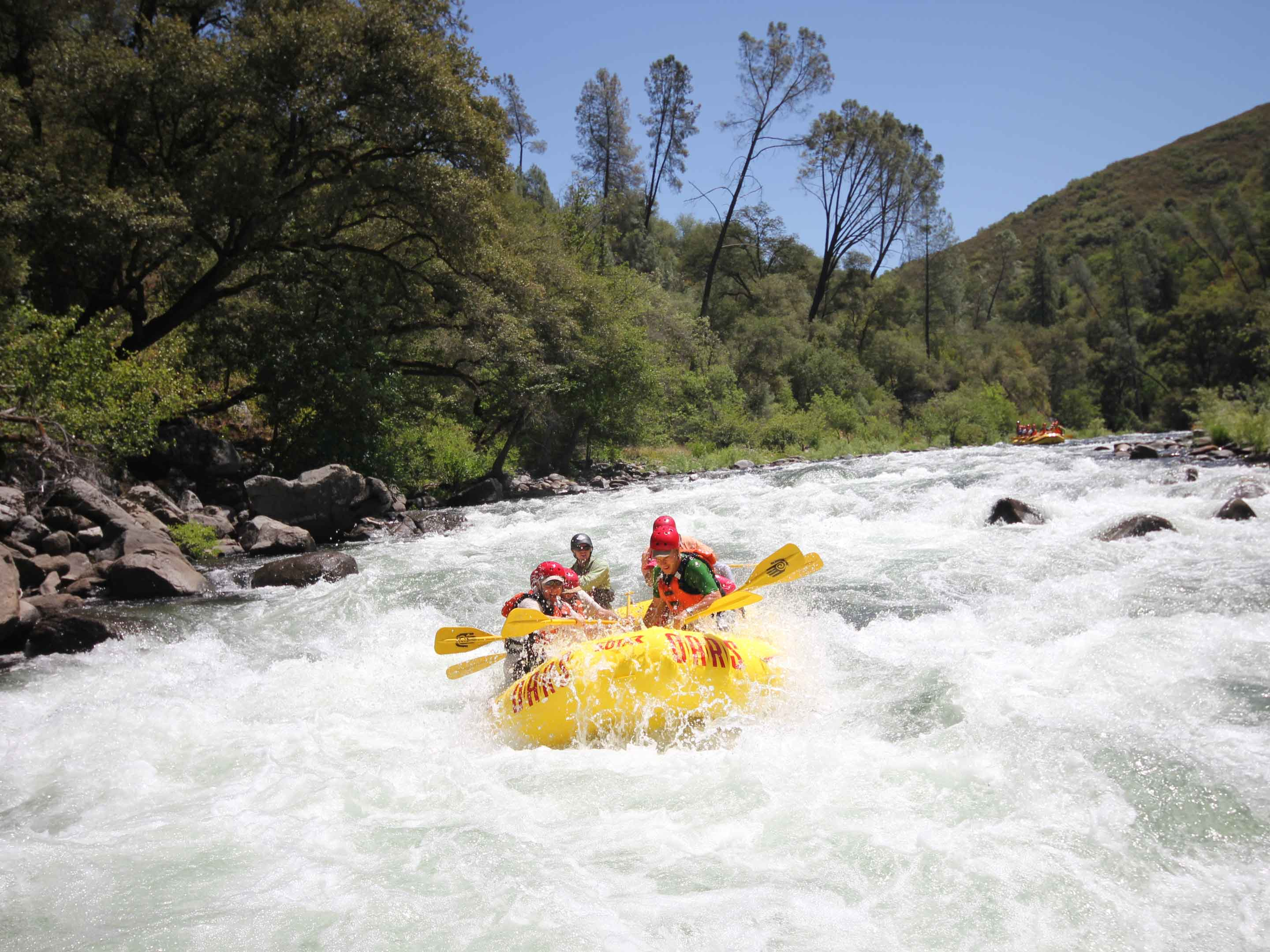 Tuolumne River Whitewater Rafting Near Yosemite
