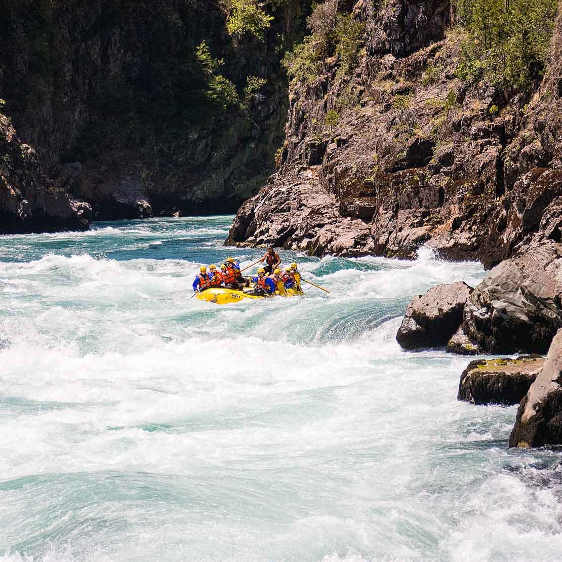 Chile Rafting Landscape
