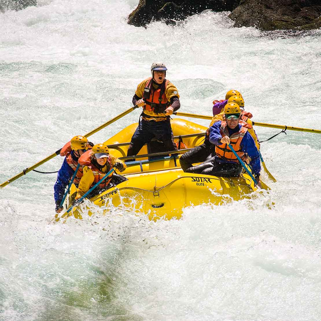 Chile Rafting Rapids