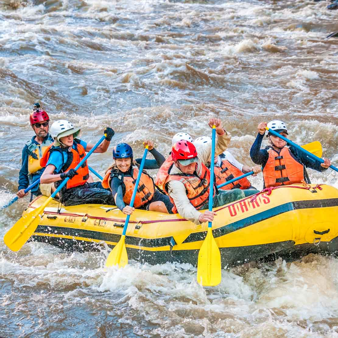 Colorado Whitewater Rafting