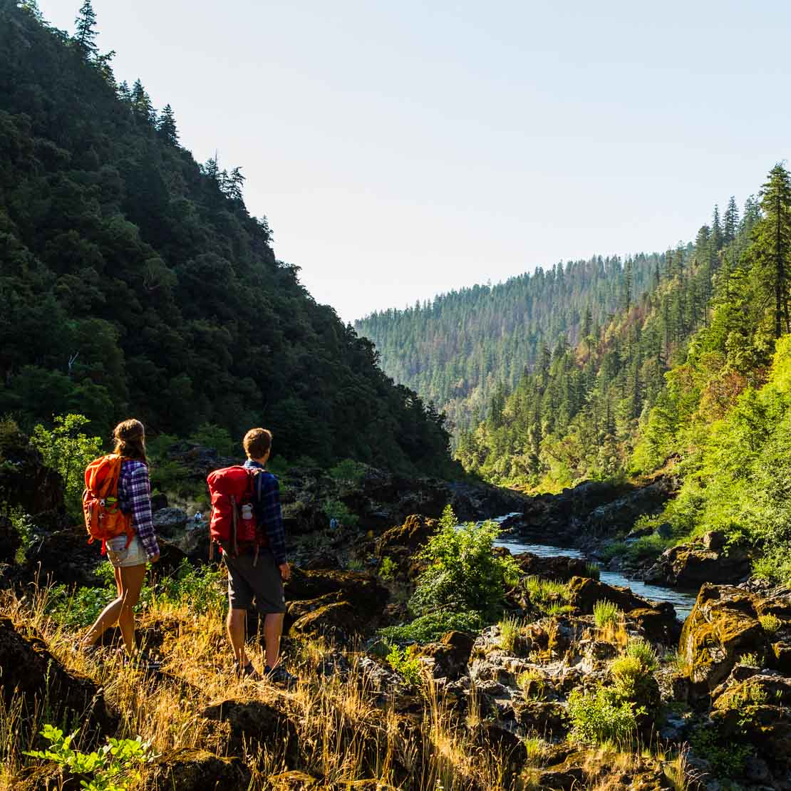 A couple hikes along the Rogue River, OR