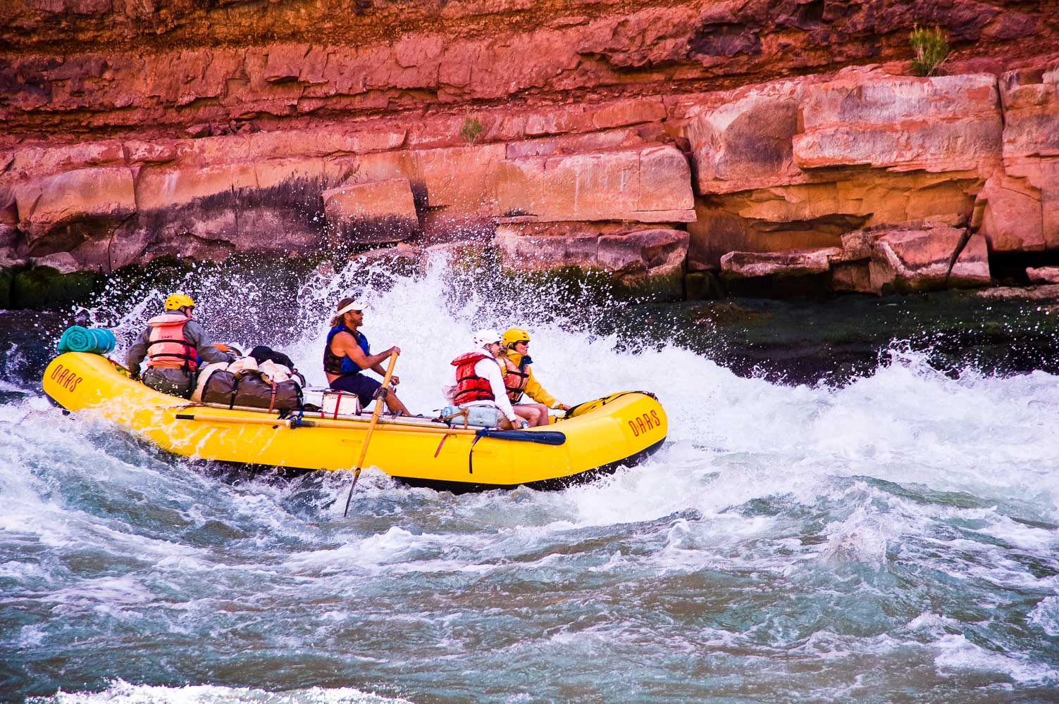 Grand Canyon Rafting With Oars Lees Ferry Phantom Ranch
