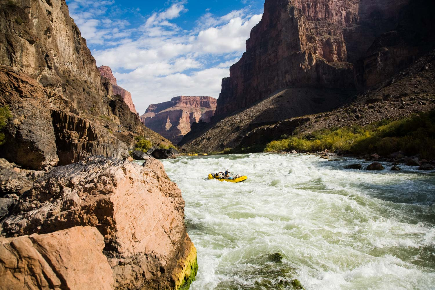 Grand Canyon Rafting With Oars Lees Ferry Diamond Creek