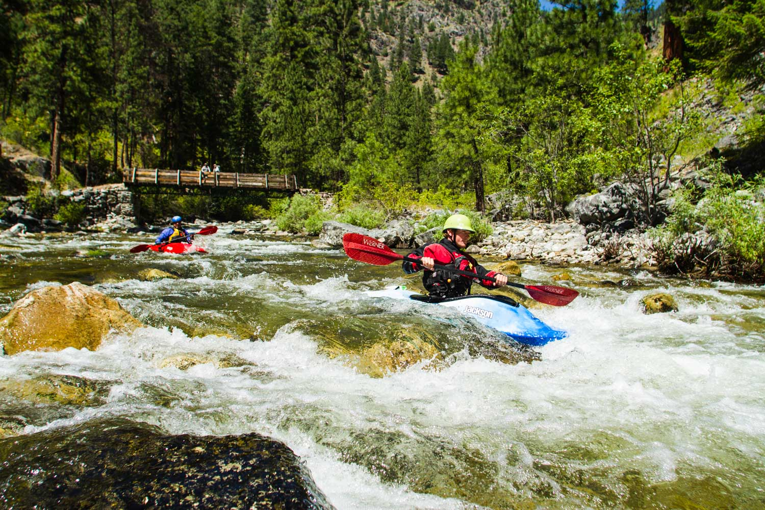 Idaho Whitewater Kayaking School Oars