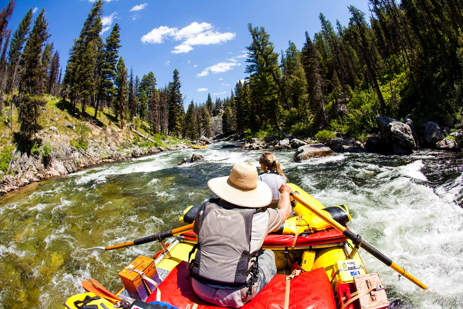 Idaho Whitewater Rafting Middle Fork Salmon River Rafting