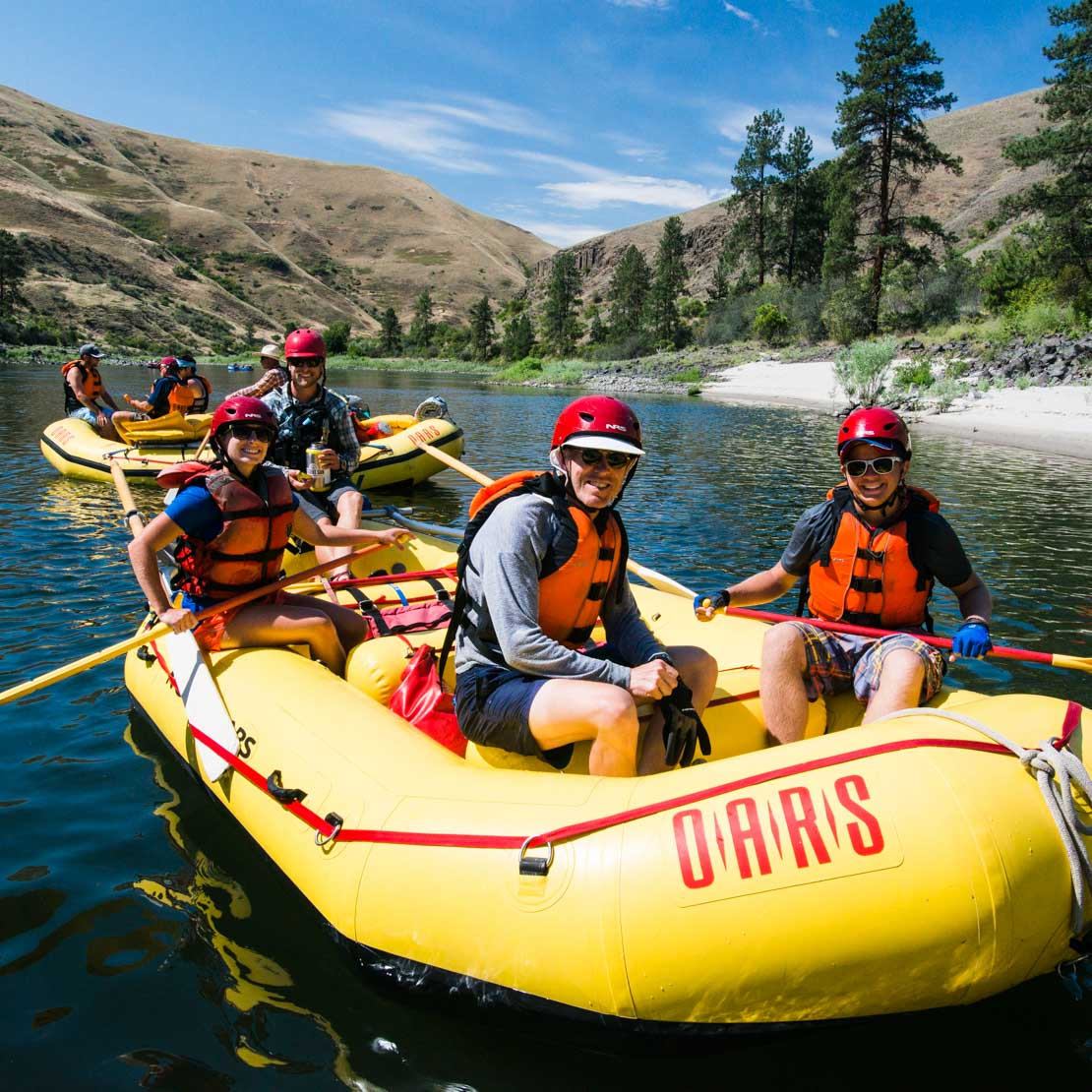 Idaho Rafting Lower Salmon