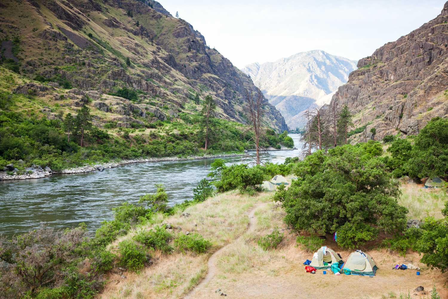 Snake River Rafting Through Hells Canyon With Oars