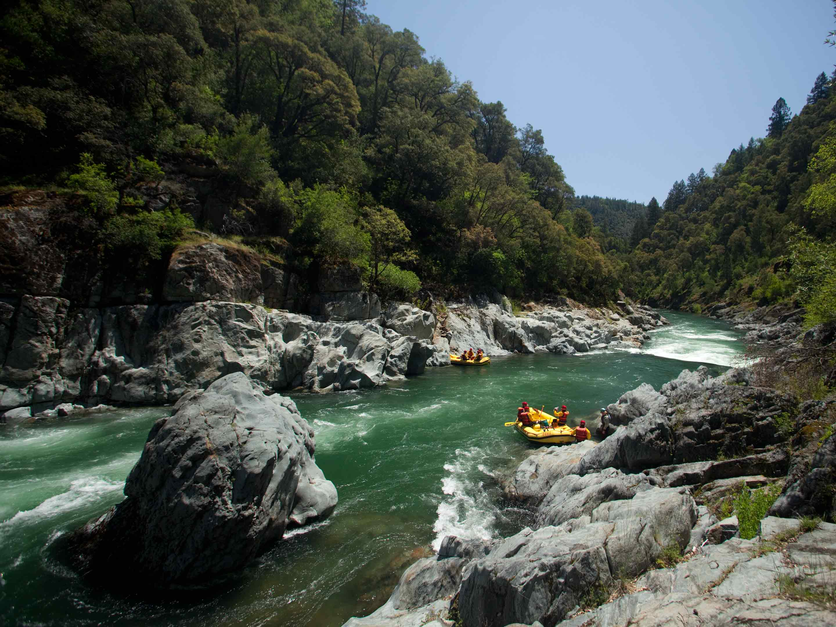 North Fork American River Whitewater Rafting In California